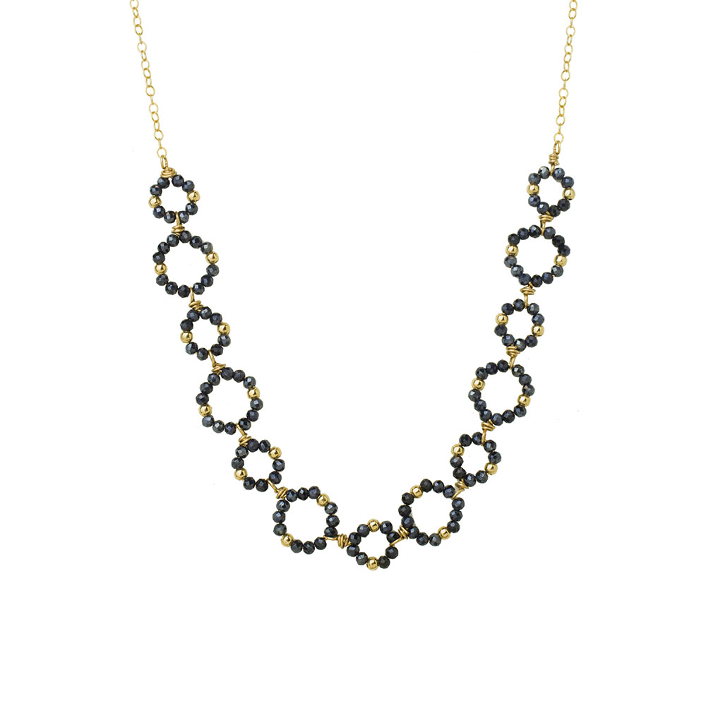 MTJ-BN-0010 - Small Open Link Necklace