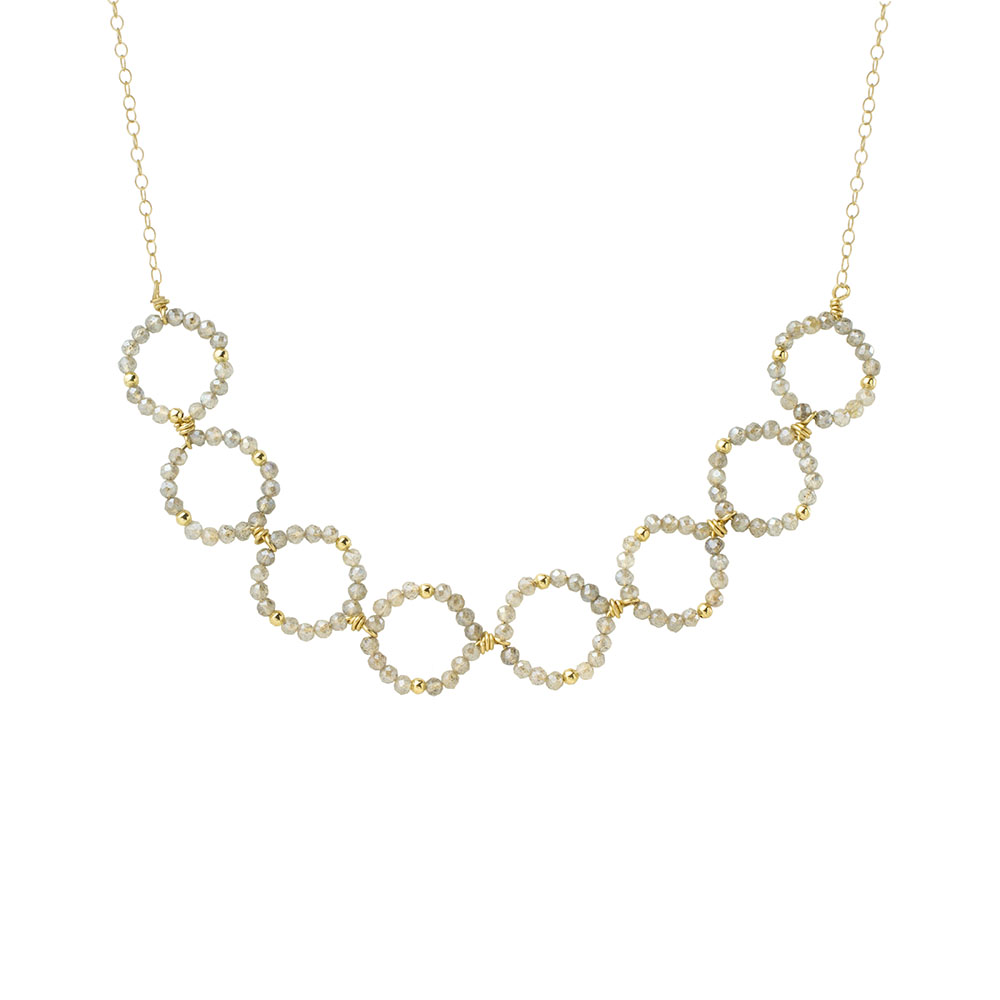 MTJ-BN-008 - Small Open Link Necklace
