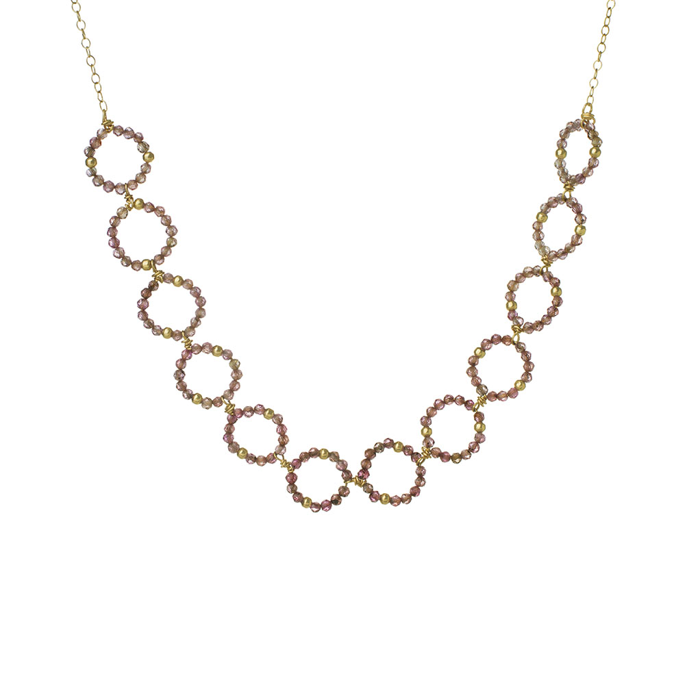 MTJ-BN-009 - Medium Open Link Necklace